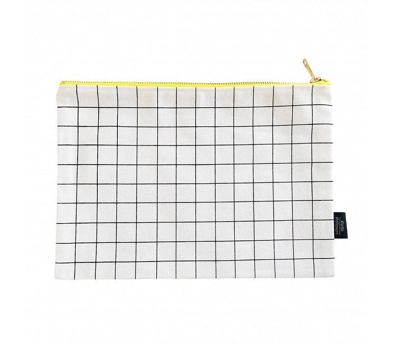 Canvas Bag grid XL