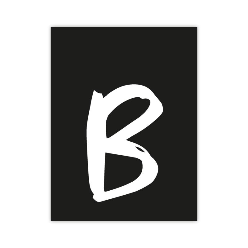 Letterslinger - letter B