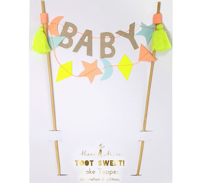 "Cake topper ""baby"""