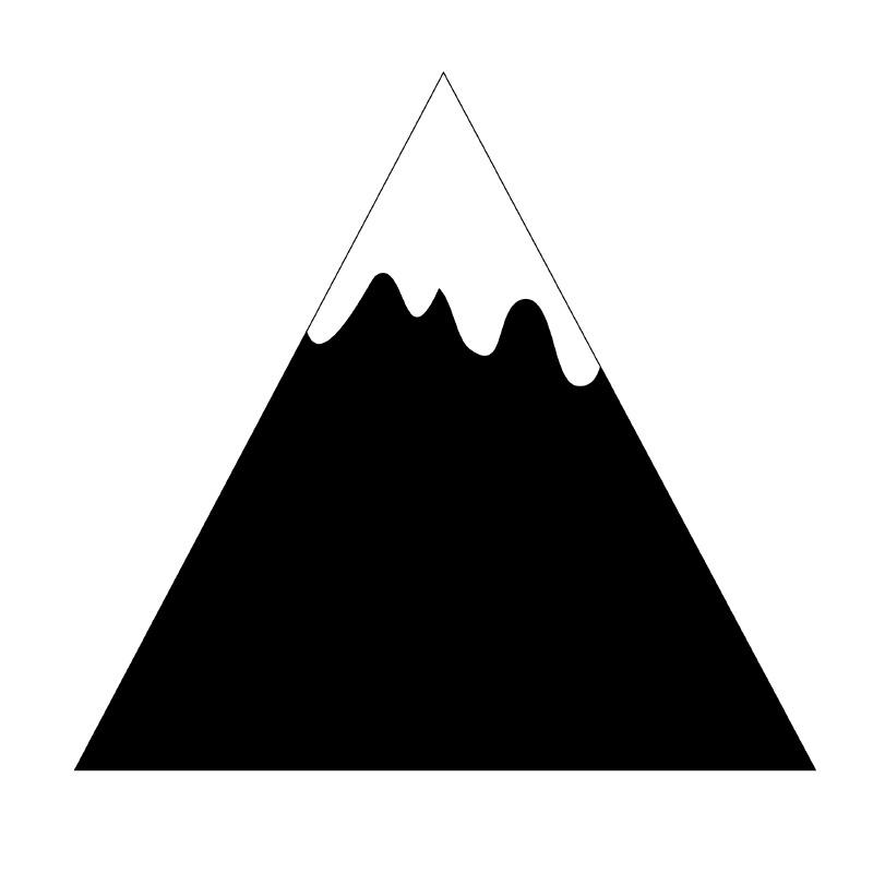 Huisje hout | Mountain maat Big