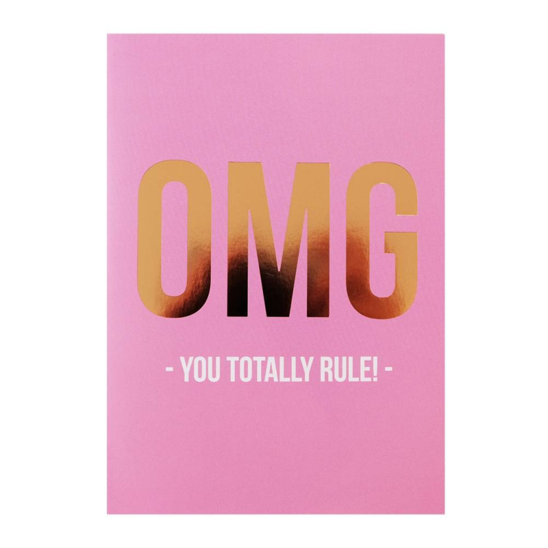 A6 | OMG you totally rule!