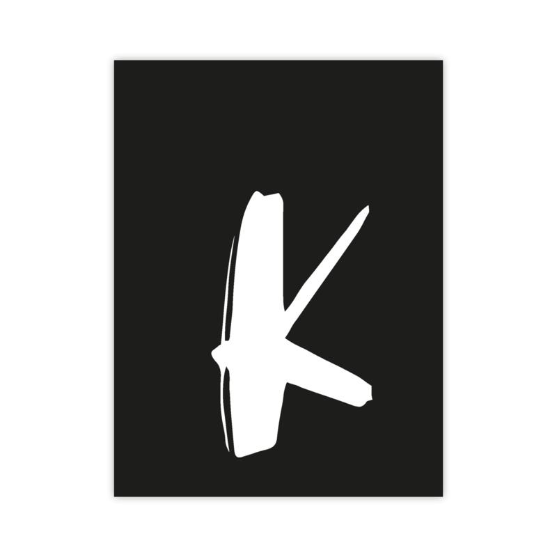 Letterslinger - letter K