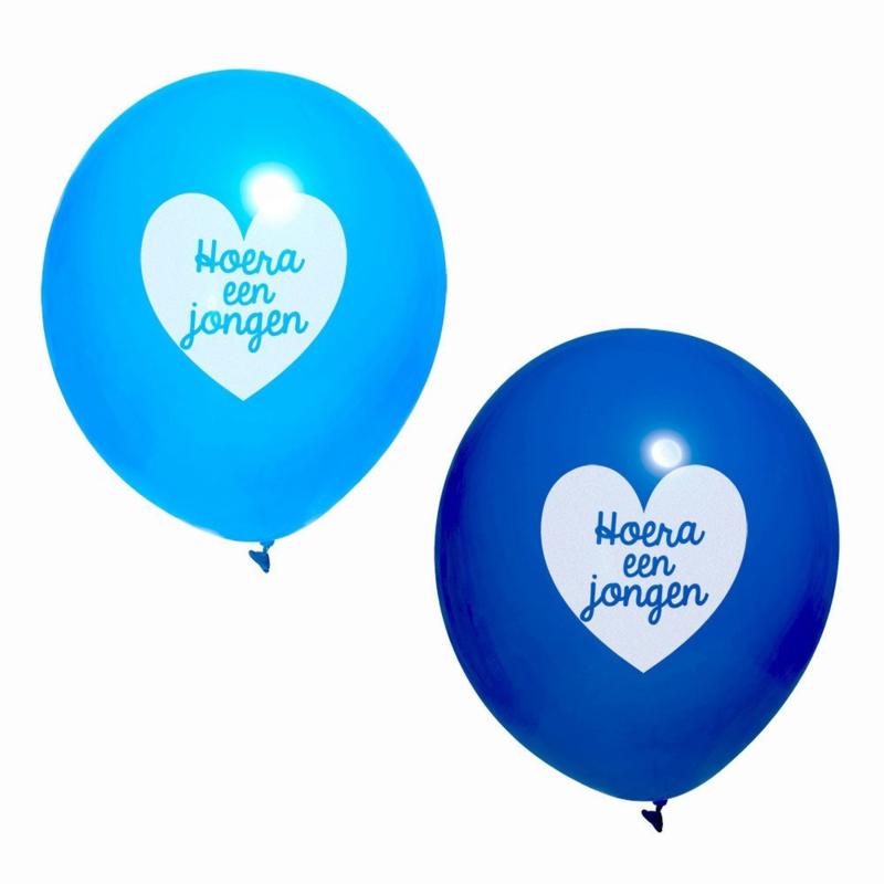 Ballon jongen (blauw)