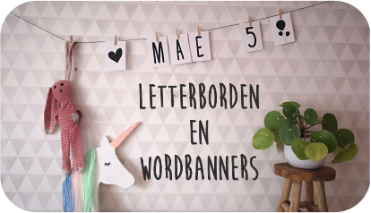Letterborden en Wordbanners