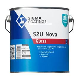 Sigma S2U Nova Gloss - Ral 9010 - 1 liter
