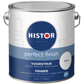 Histor Perfect Finish Voorstrijk / Primer - Wit - 2,5 liter