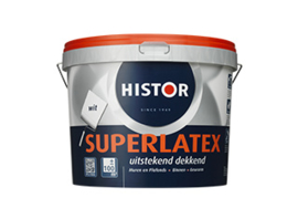 Histor Super latex - wit - 2,5 liter
