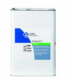 Sigma Unigrund S - Primer - Kleurloos - Oplosmiddelhoudend voorstrijk- en fixeermiddel - 5 liter