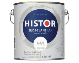 Histor Perfect Finish Zijdeglans Wit (6400) 1.25 liter