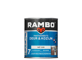 Rambo Pantserbeits Deur & Kozijn Zijdeglans Dekkend - Bosgroen 1131 - 750 ml