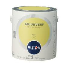 Histor Perfect Finish Muurverf Mat - appel 6912 - 2,5 Liter