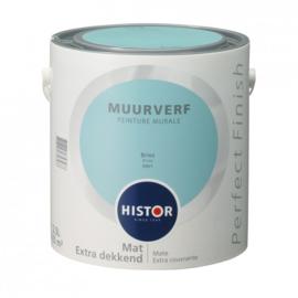 Histor Perfect Finish Muurverf Mat - Bries 6901 - 2,5 Liter