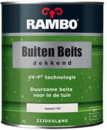 RAMBO Buitenbeits Dekkend - Ivoorwit 1101 - 0,75 liter