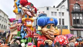 Latex ROOD - 5 liter - carnavals kleuren