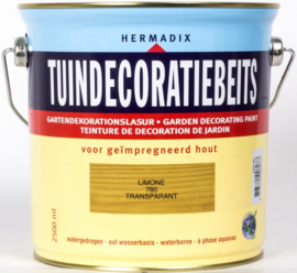 Hermadix Tuindecoratiebeits 780 Limone - 0.75 liter