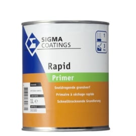 Sigma Rapid Primer - Ral 3031 Rood- 2.5 liter