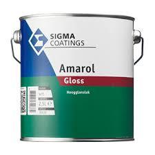Sigma Amarol Gloss - WIT - 1 liter