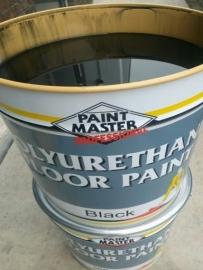PU betoncoating ZWART - Paintmaster FLOORPAINT - ZWART