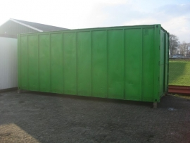METAALCOATING Groen - 50 liter - Containercoating
