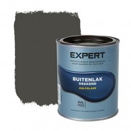 1 blik 750 ml - Sikkens Expert Buitenlak halfglans - Ral 7022 Ombergrijs