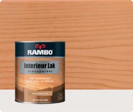 RAMBO INTERIEUR - VLOER LAK TRANSPARANT ZIJDEGLANS - Naturelbeuken 775 - 0,75 liter