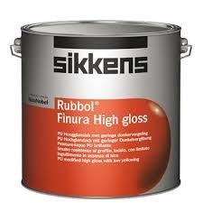 SIKKENS RUBBOL FINURA HIGH GLOSS alle kleuren 1 liter - AKZO NOBEL