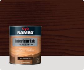 RAMBO INTERIEUR - VLOER LAK TRANSPARANT ZIJDEGLANS - Puurpalisander 773 - 0,25 liter