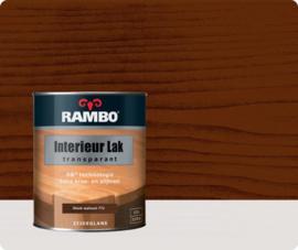RAMBO INTERIEUR - VLOER LAK TRANSPARANT ZIJDEGLANS - Warmwalnoot 772 - 0,75 liter