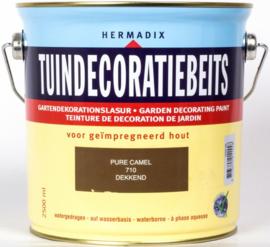 Hermadix Tuindecoratiebeits 710 Pure Camel - 0.75 liter