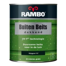 RAMBO Buitenbeits Dekkend - Rijtuiggroen 1127 - 5 maal 0,75 liter