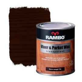 Rambo Vloer & Parket Wax Transparant - Warm Wenge 776 - 0,75 liter