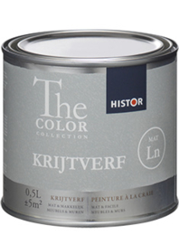 Histor The Color Collection KRIJTVERF - 0.5 liter - ALLE KLEUREN LEVERBAAR