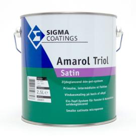 Sigma SCHAKELVERF Amarol Triol Satin WIT - 2,5 liter