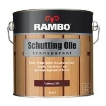Rambo Schuttingolie 1200 Kleurloos Transparant - 2,5 liter