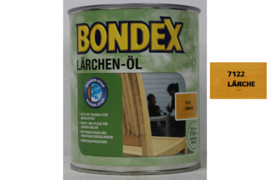 BONDEX LARIKS Olie - Larchen öl  - 4 liter