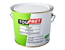 Toupret Stopverf - 0,5 kg - wit