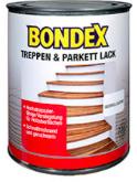 Trap en Parketlak - Bondex Treppen und Parkett Lack - Zijdeglanzend - 0,75 liter