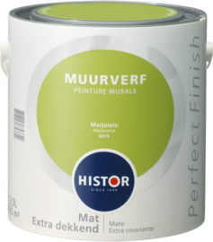 Histor Perfect Finish Muurverf Mat - Marjolein 6915 - 2,5 Liter
