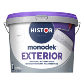 HIstor Exterior Muurverf - WIT of lichte kleuren - 2,5 liter