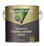 BOONSTOPPEL Garantie  Grondlakverf 2000 - Wit of licht kleuren - 2.5 liter