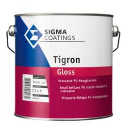 Sigma tigron gloss - wit - 0,5 liter