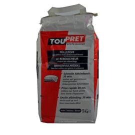 Toupret - Le Reboucheur - BInnenvulmiddel - 15 kg