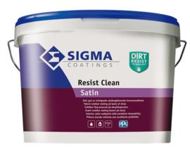 Sigma Resist Clean Satin - Wit - 2,5 liter