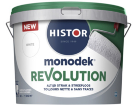 Histor Monodek  Revolution - 10 liter - WIT of lichte kleuren