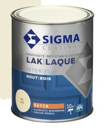 Sigma lak interieur ral 9010 Helderwit matt  750 ml