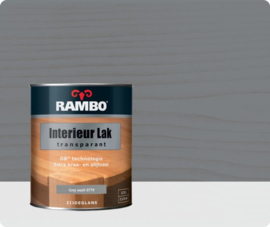 RAMBO INTERIEUR - VLOER LAK TRANSPARANT ZIJDEGLANS - Greywash 779 - 0,75 liter