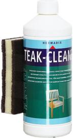 Hermadix Teakhout Cleaner - 1 liter inclusief handige schuurspons