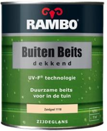 RAMBO Buitenbeits Dekkend - Zandgeel 1118 - 0,75 liter