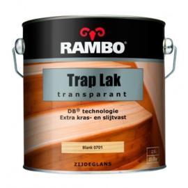 Rambo Trap Lak Transparant Zijdeglans - Blank 701 - 0,75 liter