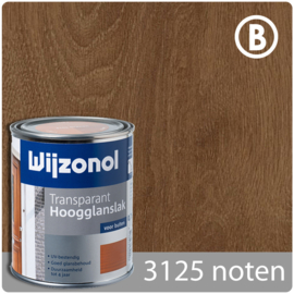 Wijzonol Transparant Hoogglanslak 3125 Noten - 750 ml